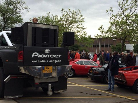 liveset at carsandcoffee autovisie amsterdam   on the pioneerdj_truck  ptrgbrl by pietergabriel dutch dj & producer