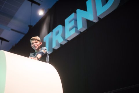 Trendship 2016 playground TrendschipNL playing at this techevent on the playground was special!